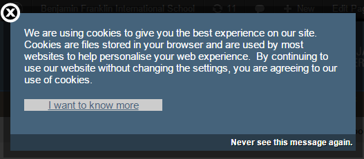 Website Uses Cookies